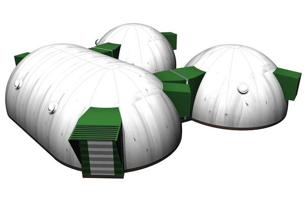 Agrupación de bóveda y cúpulas
